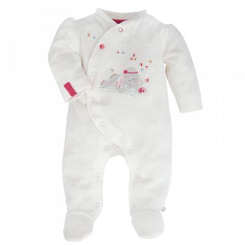 Pyjama velours Fluweel 1 mois