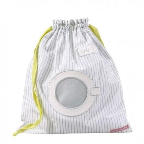 Sac à linge mouillé rayé gris machine à laver LITTLE CREVETTE