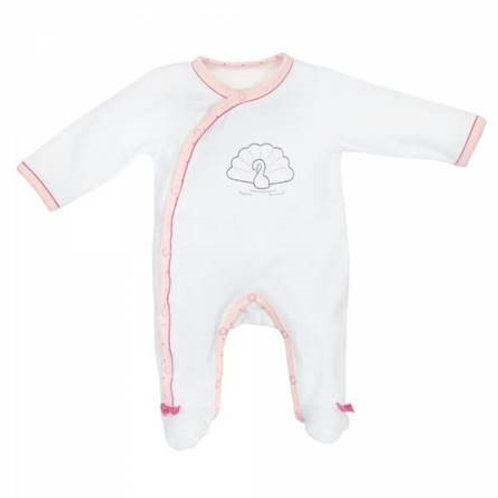 Pyjama velours babyswann sauthon 3mois