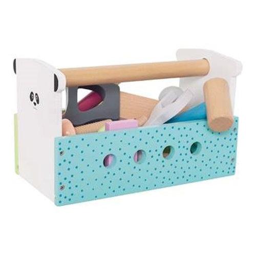 Boîte à outils Multicolore en bois JABADADO