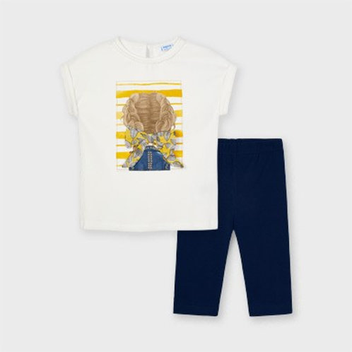 Ensemble leggings t-shirt mayoral