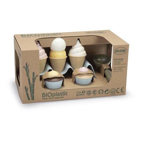 DANTOY Kit crème glacées en bioplastique