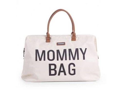SAC NURSERY MOMMY BAG ECRU BLANC ET NOIR