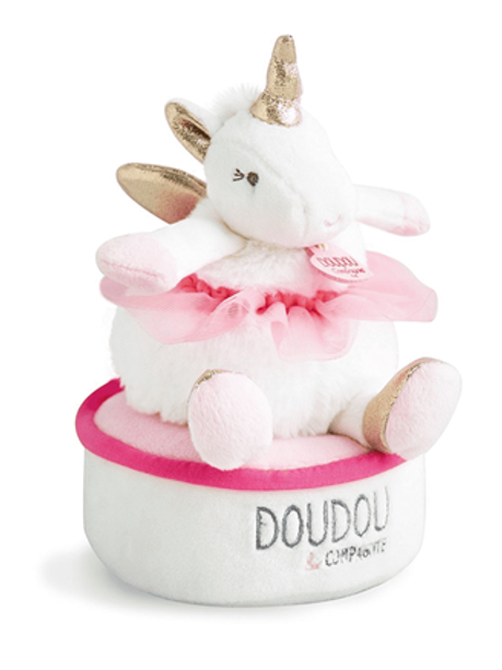 Boite à musique - Lucie la licorne Doudou & Compagnie