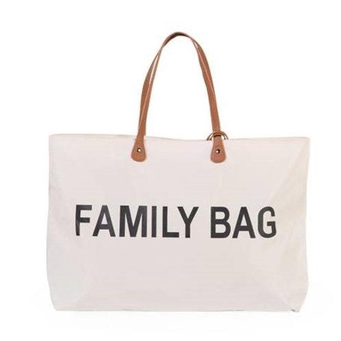 Sac à langer Family Bag écru childhome rose