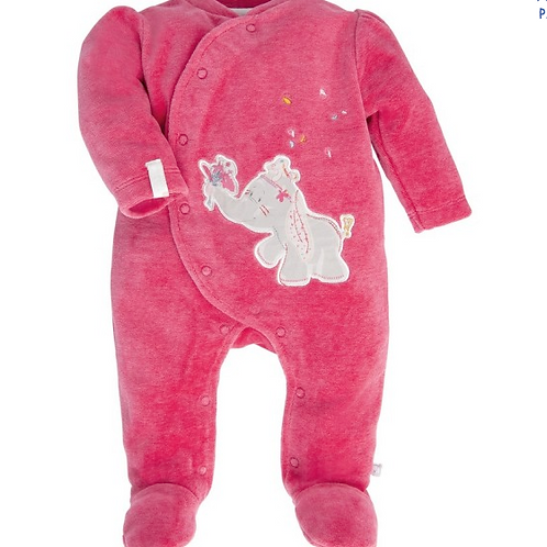 Pyjama velours Fluweel
