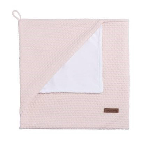 Cape soft velour rose tendre baby's only