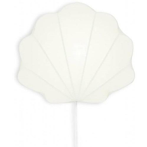 Lampe en tissu clam – menthe KONGES SLOJD