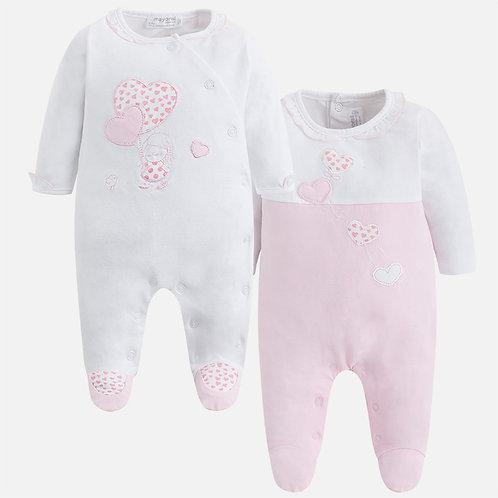 2 pyjamas Mayoral 1 mois