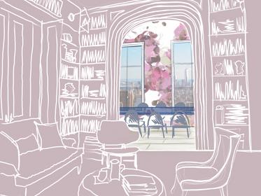 Interior Sketches + Doodles