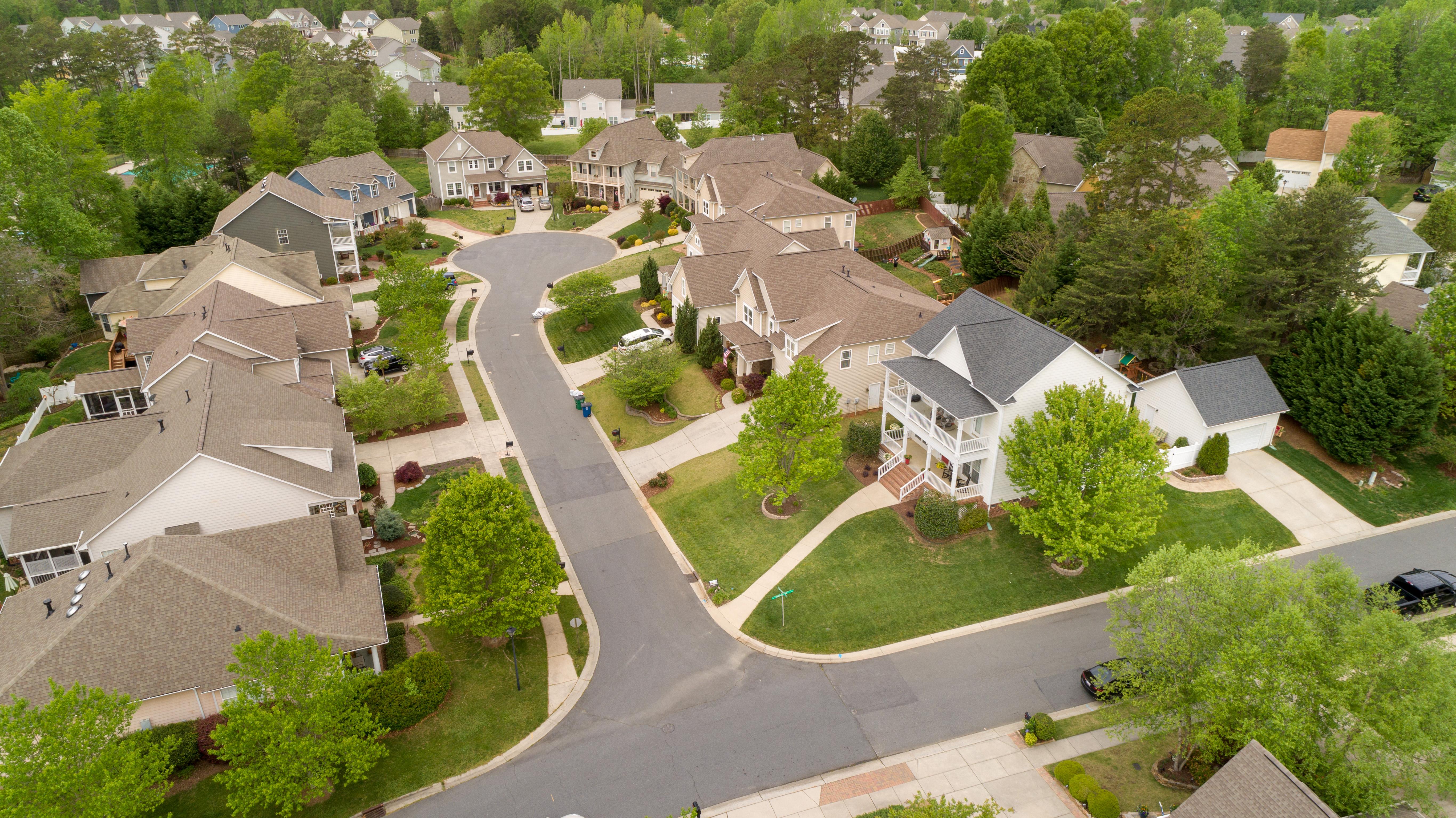 Street Aerial View