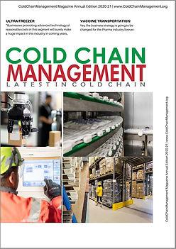 Cover-ColdChainManagement Magazine Annua