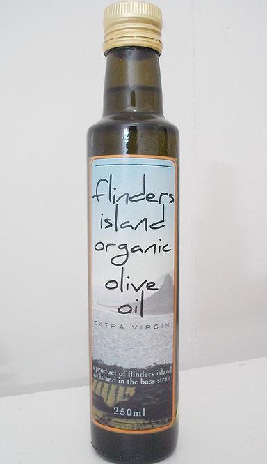 250ml bottle Flinders Island Organic Extra Virgin Olive Oil