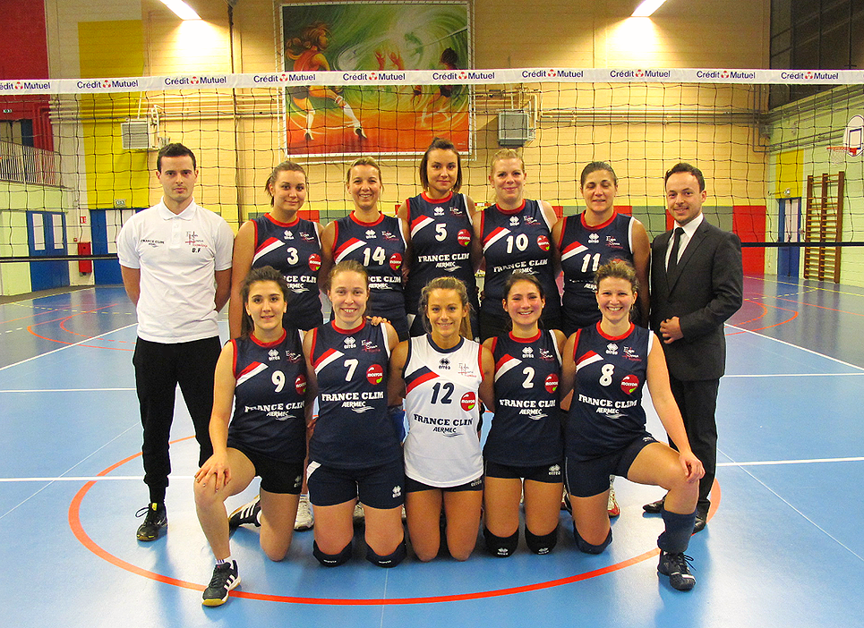 FRANCE CLIM AERMEC Sponsor ESH Volley-Ball Féminine Pré-Nationale