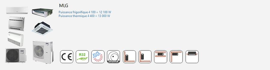 AERMEC;Inverter;Climatisation;chauffage;confort;tertiaire;Commercial;MultiSplit;R32;Reversible;Multi-Splits;Mural;Console;Cassette;Gainable;Nouveau Fluide