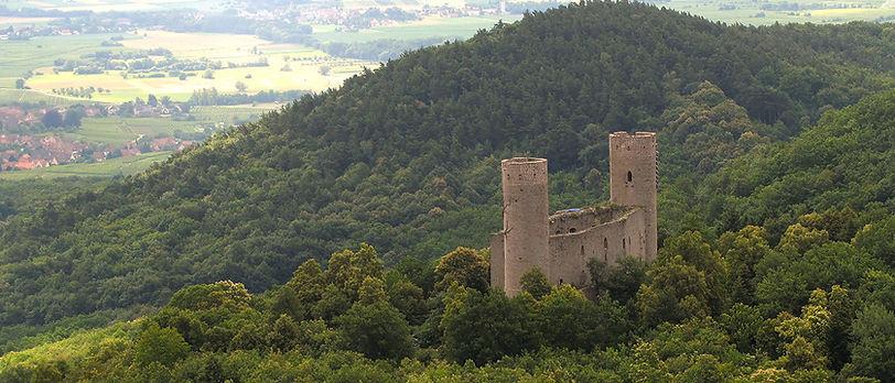 Château d'Andlau, FRANCE CLIM AERMEC Nord-Est