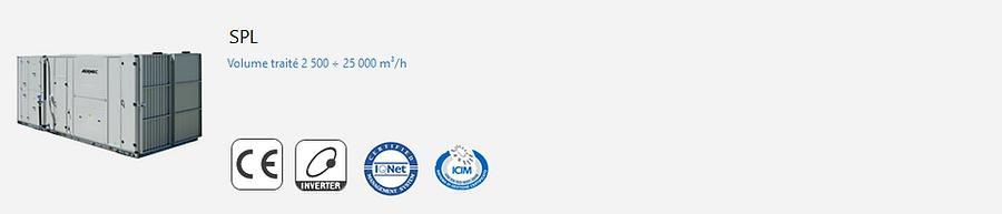 AERMEC;VMC;CTA;Simple FLux;Double Flux;Eurovent;Climatisation;chauffage;confort;Echangeur a plaques;Echangeur;ERP 2018;Piscine;Deshumidification
