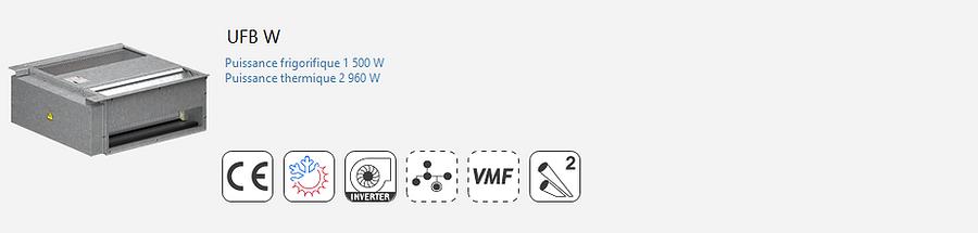 UFB;Plancher;Ventilo-Convecteur;AERMEC;Console;Gainable;plafonniere;Eurovent;Climatisation;chauffage;confort;sol-flottant;plancher