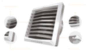 Aérotherme Design avec pigments Anti-UV