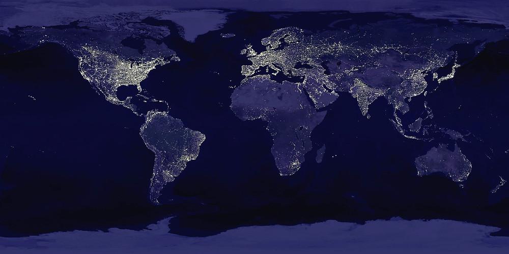 image courtesy of Visible Earth, NASA