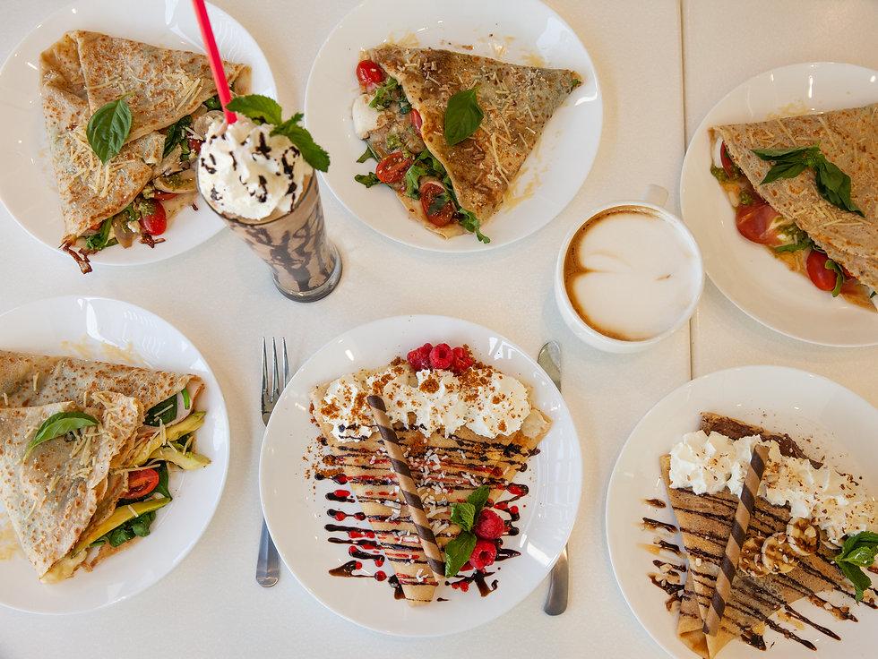 Dali Savory Crepes Dish 1