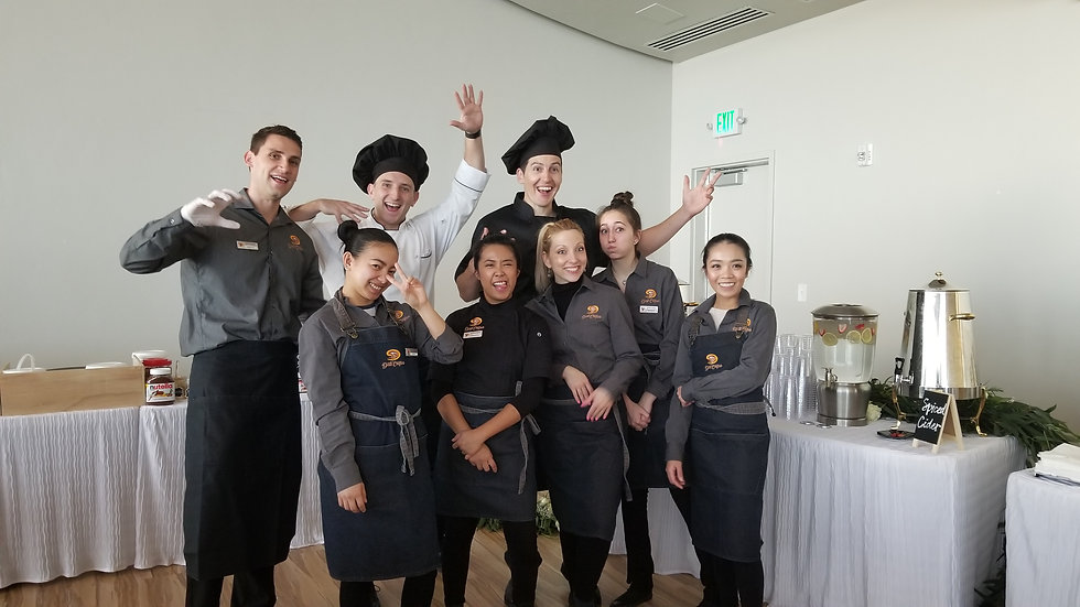 The Dali Crepe team at a special event