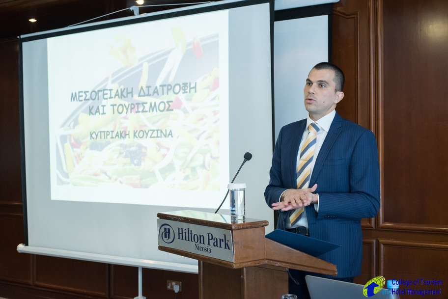 SEMINAR ON MEDITERRANEAN DIET, CYPRUS CUISINE AND TOURISM ON 16th JANUARY 2020
