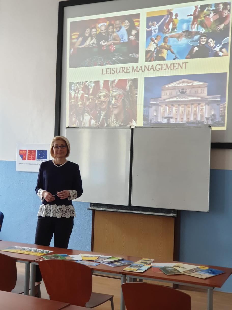 Erasmus Teaching Mobility programme – Praha, the Czech Republic, 13-15th of May, 2019
