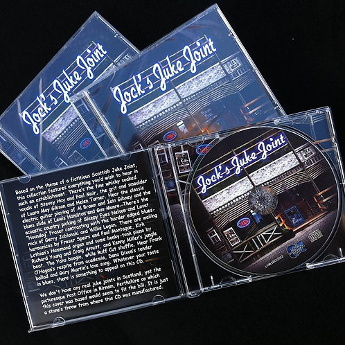 Jock's Juke Joint Volume 4 CD - Featuring Redfish & The Best of Scottish Blues