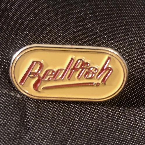 Redfish Logo Enamel Pin Badge