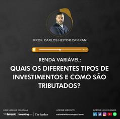 Podcast: Investindo em Renda Variável