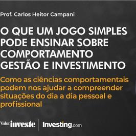 Comportamento, Gestão e Investimento