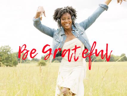 Gratitude mood activated