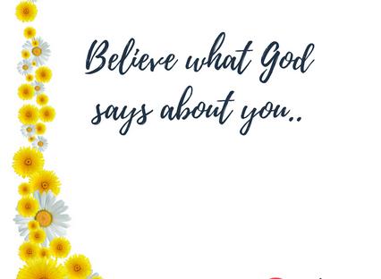 Trust Him..