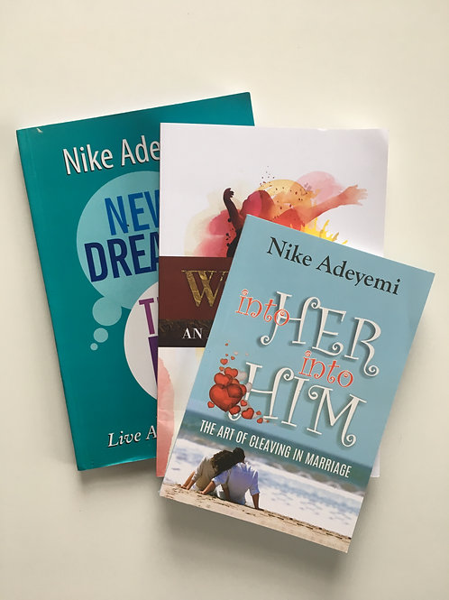 ALL 3 Books from Nike Adeyemi's Collection