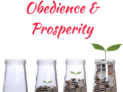 Obedience & Prosperity