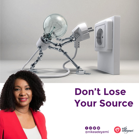Don't lose your source
