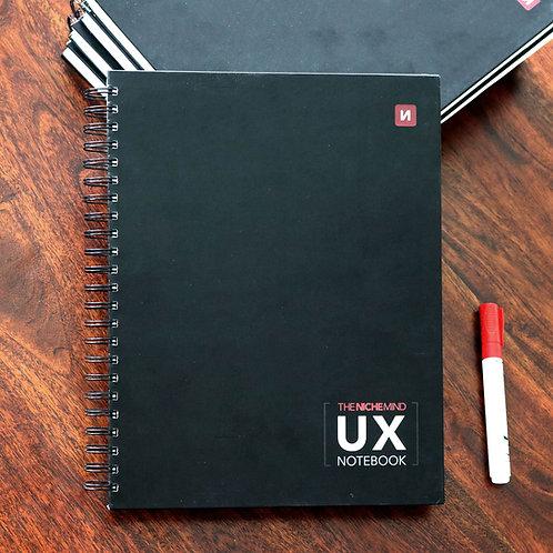 UX Notebook | UI Design & UX Research Documentation Notebook | Mobile & Desktop