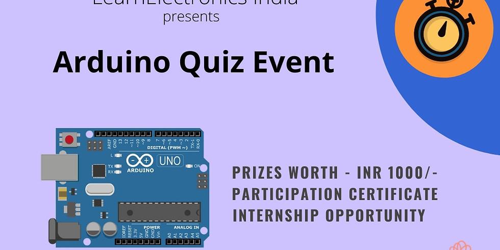 Arduino Quiz Competition