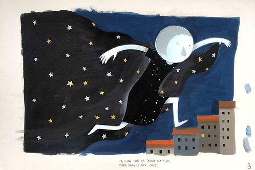 Chut, la lune