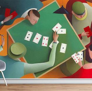 Puybaret Eric - Poker - Réf : EP-04