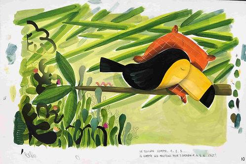 Chut, le toucan