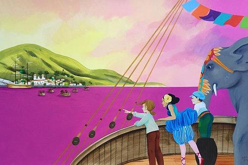 Martin du bateau cirque