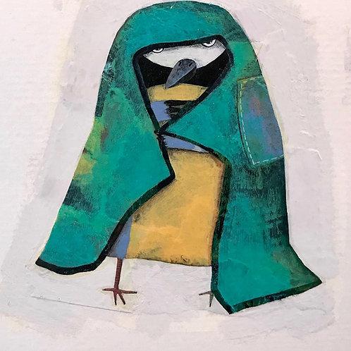 La mésange déguisée