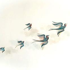 papier-peint-oiseau