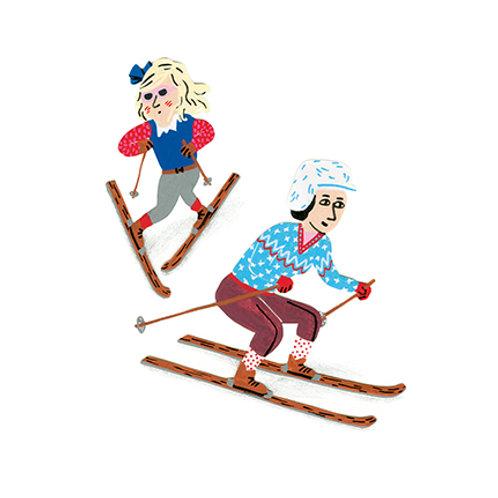 Les skieuses