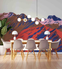 mountain-dining-wallpaper