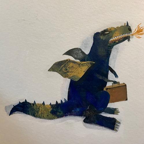 Dans ma maison, y'a un dragon !