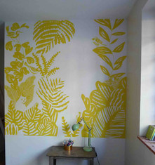 fresque-murale-vegetal