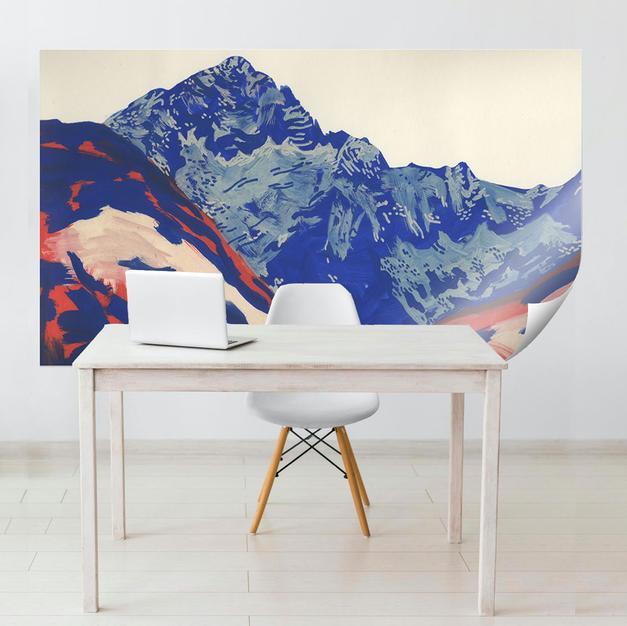 wall-blue-mountain